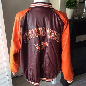 Virginia Tech U Bomber Varsity Jacket XXL | NEW
